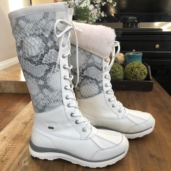 e4552753a UGG Adirondack III Tall Snake Boot Leather